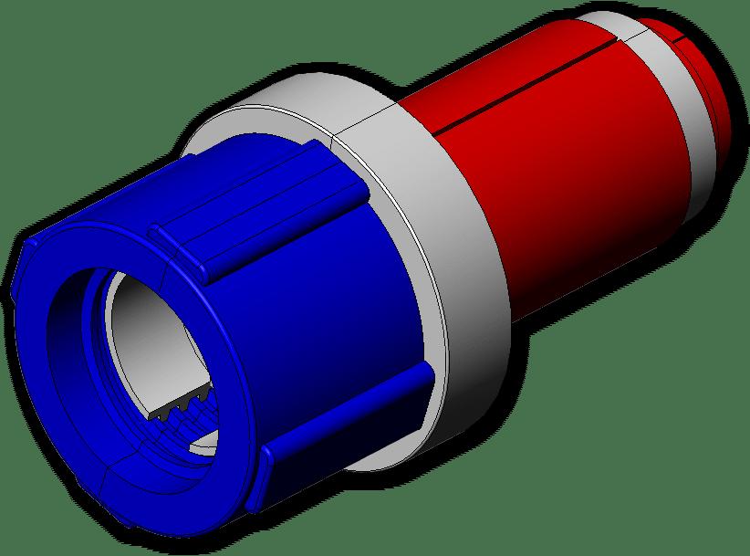 LOT OF 10 JMS Jackmoon Fiber Optic Simplex Duct Plug 12S070SB